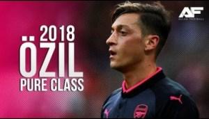 Video: Mesut Özil • Magical Legendary Skill Show • 2018 • HD